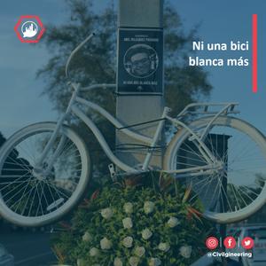 Bici blanca por Abel Velazquez