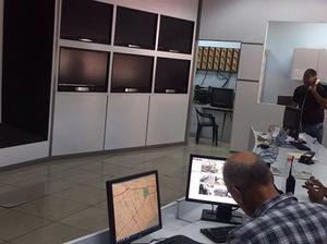 Interior Centro de Control de Tránsito Corredor 27 de febrero