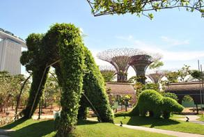 Jardines junto a la Bahía, Marina Bay, Singapur