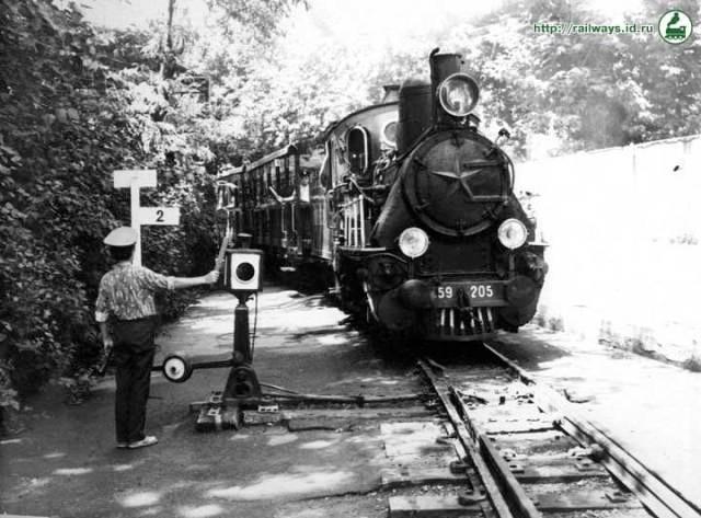 Primer ferrocarril para niños del mundo en Tbilisi