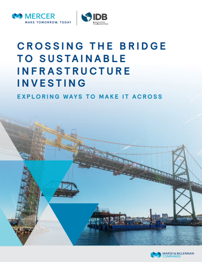 Crossing the bridge to sustainable infrastructure investing
