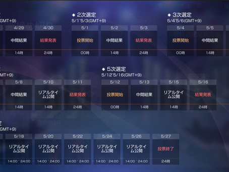 【お知らせ】シーズン9実験体投票