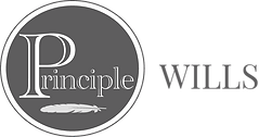 Principle Wills logo -Dark Grey Regular