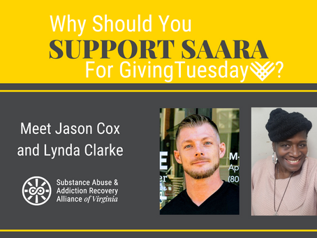 Two Peer Recovery Specialists Answer Why You Should Support SAARA on GivingTuesday