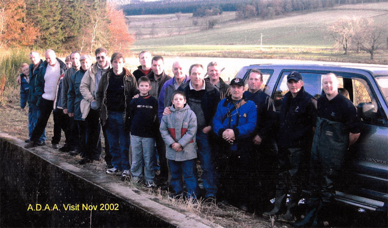 2002 Don Hatchery visit