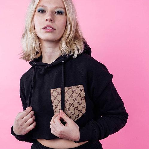 Gucci Pocket Cropped Hoodie