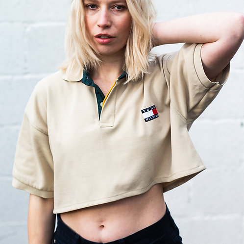 Up-cycled Vintage Tommy Hilfiger Polo