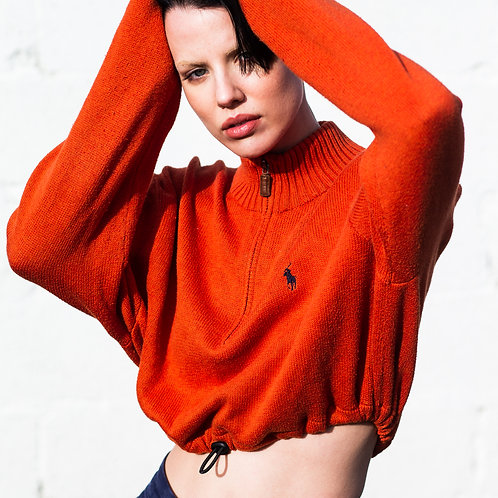 Ralph Lauren Burnt Orange Crop