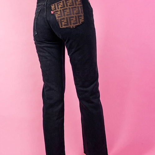 Fendi Pocket Jeans