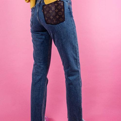Louis Vuitton Pocket Jeans