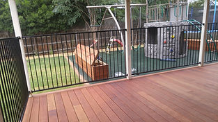 rubbe surface playground merbau deck melton west
