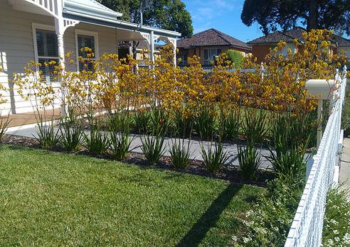 Landscape design Brookfield Emu fence Na