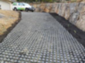 Turfgrid driveway Turfgrid path Driveway