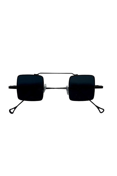 POLARIZED SQUARED 1's SUNGLASSES - BLACK