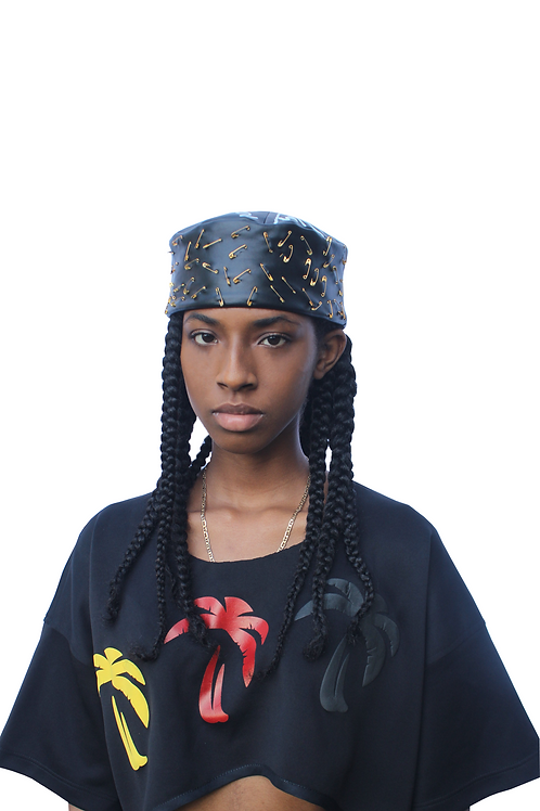 KUFI HAT - CUSTOMIZED BLACK
