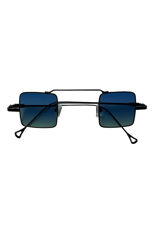 POLARIZED SQUARE 1's SUNGLASSES - BLUE
