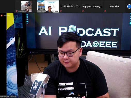 MLDA@EEE AI Podcast series