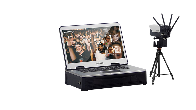 Pensees Portable Thermal Camera with Face Recogniton