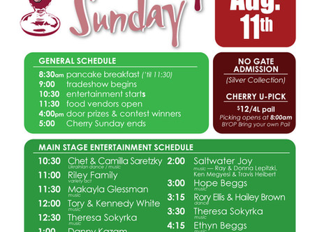 Bruno's Cherry Sunday Festival