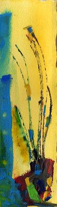 Watercolor Bookmark 24