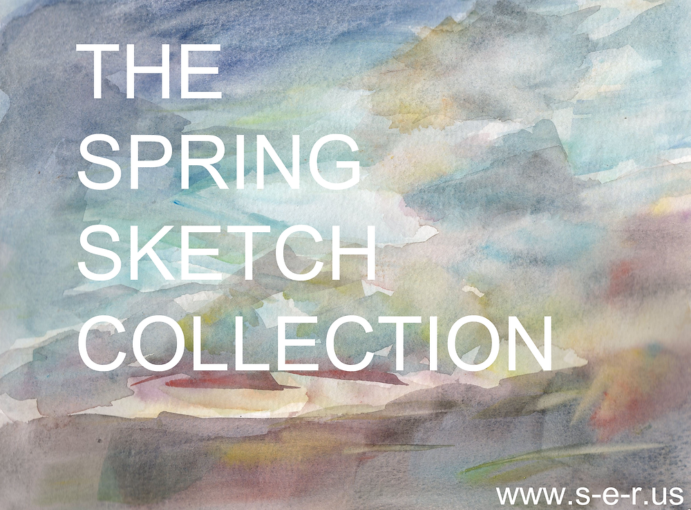 Watercolor Sketches, Watercolor Paintings, The Sky, Clouds
