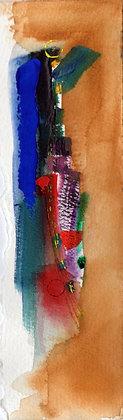 Watercolor Bookmark 23