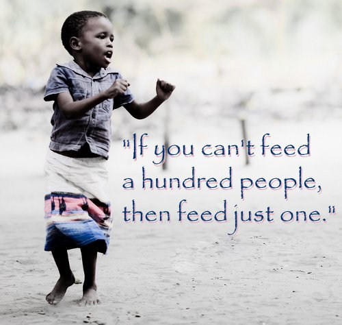 Africa, Feed the Children, No Kid Hungry, Charity