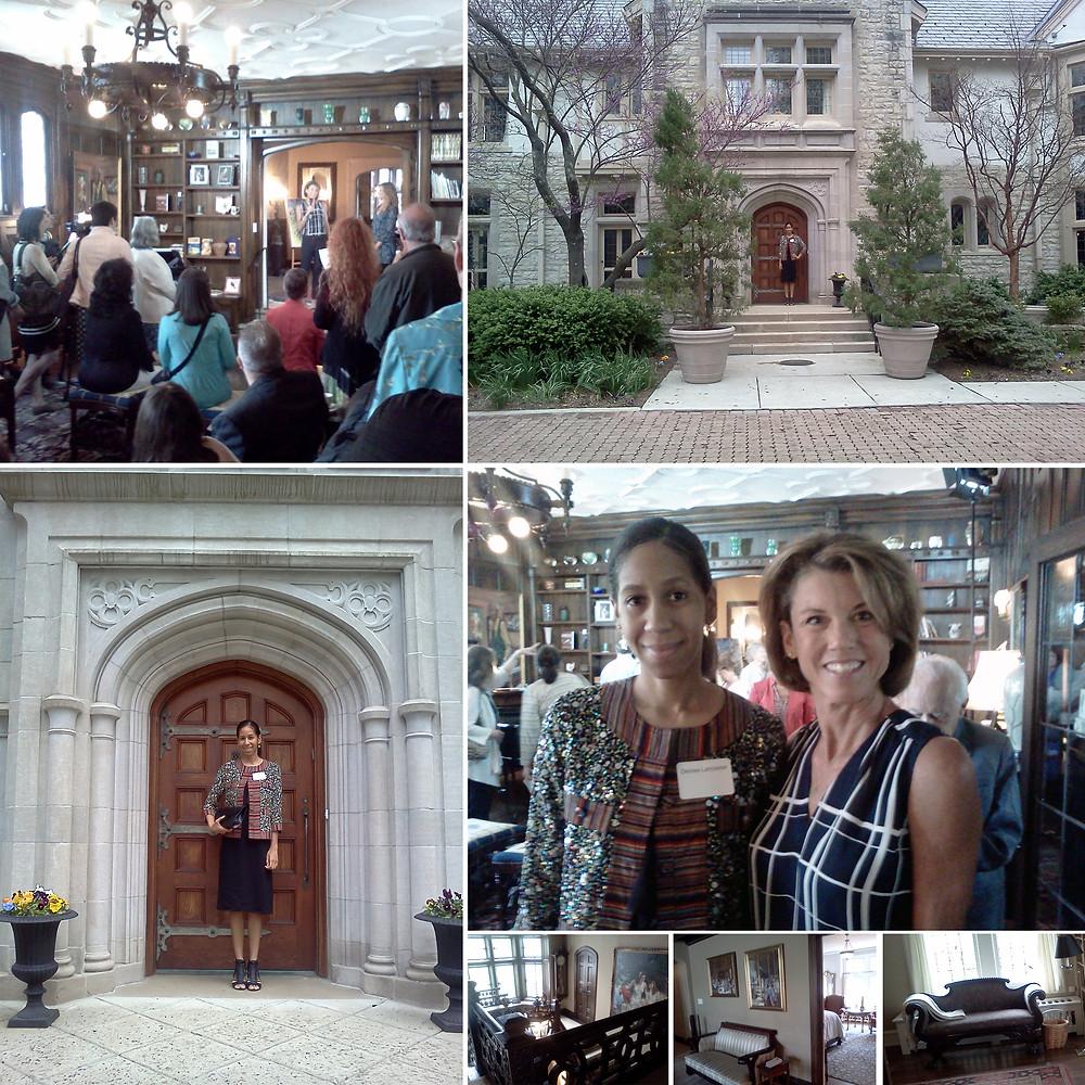 Karen Kasich at the Ohio Governor's Mansion