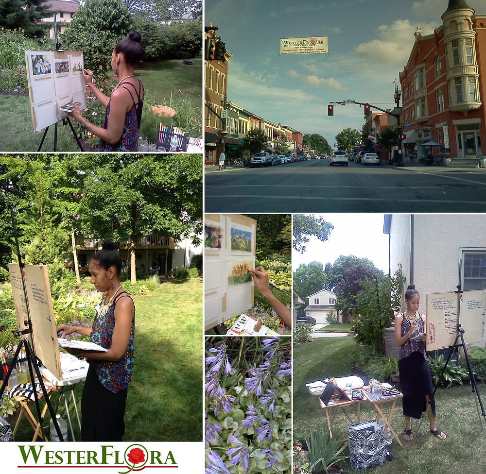 Painting Live, WesterFlora, Flowers, Nature, National Geographic