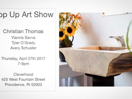Providencehood Pop Up Art Show  04.27.2017