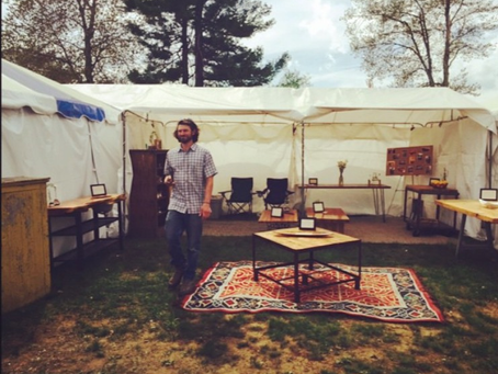 Premier Pop Up Shop at the BRIMFIELD ANTIQUES and COLLECTIBLES SHOW 05.12.2015-05.17.2015