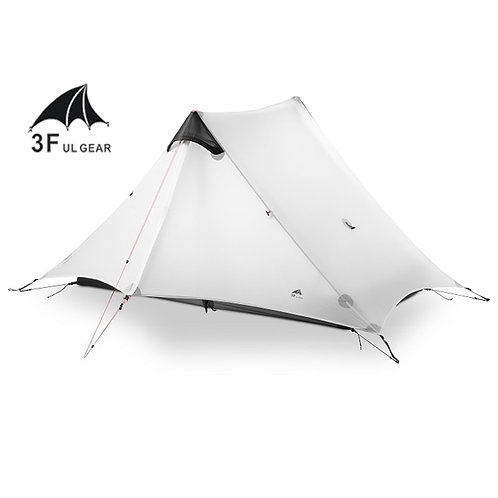 LanShan Outdoor Ultralight Camping Tent 3 - 4 Season Professional Rod-less Tent