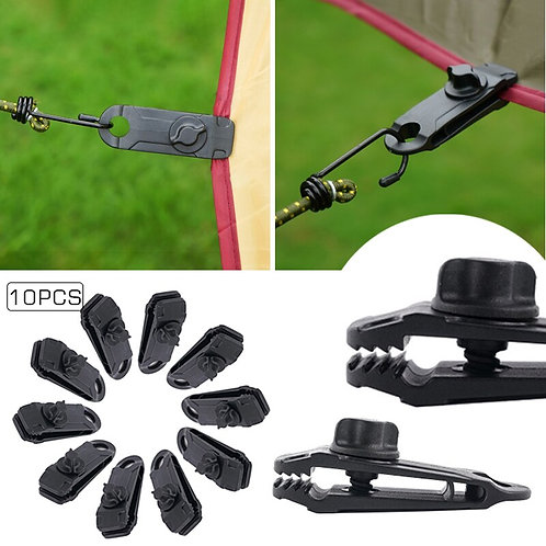 Tent Awning Clamp Heavy Duty Tarp Clips 10Pcs