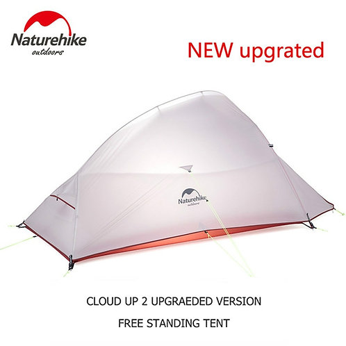 Naturehike Cloud Up Series 123 Outdoor Hiking Tent Nylon Backpacking Tent