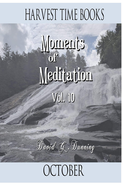 Moments of Meditation- October