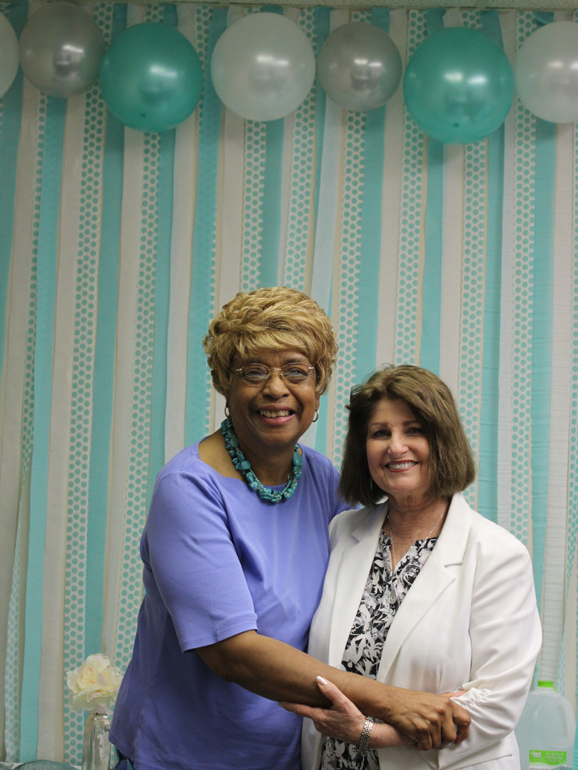 Beverly and Pastor Betty
