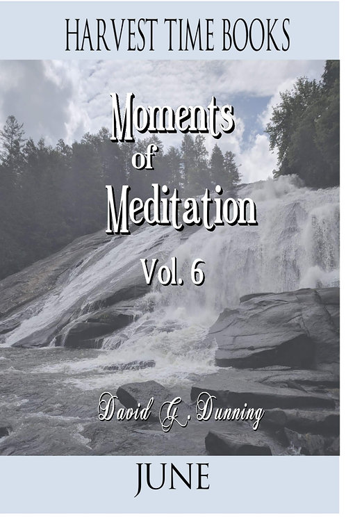 Moments of Meditation- June