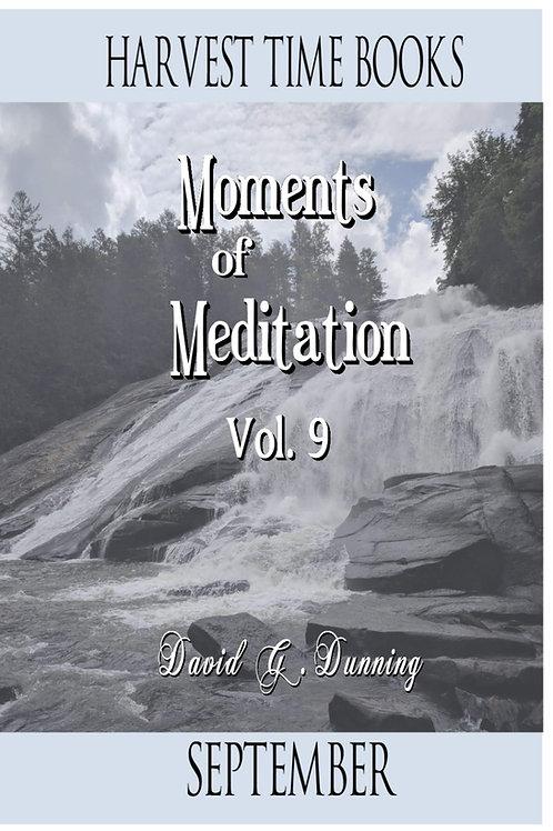 Moments of Meditation- September