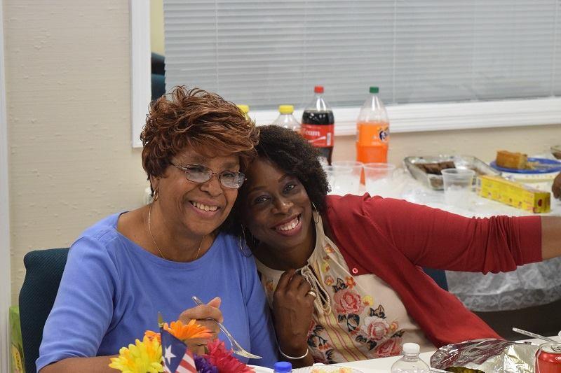 Beverly and Karen