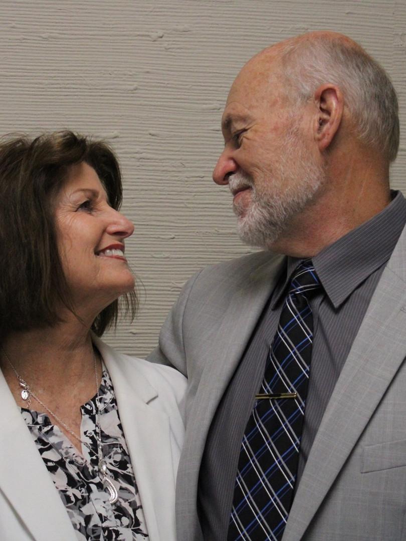 Pastor Betty and David