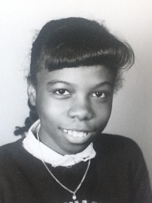 Joanne, school picture, BTW