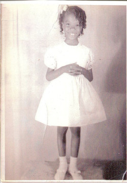 Pam, age 5, kindergarten graduation