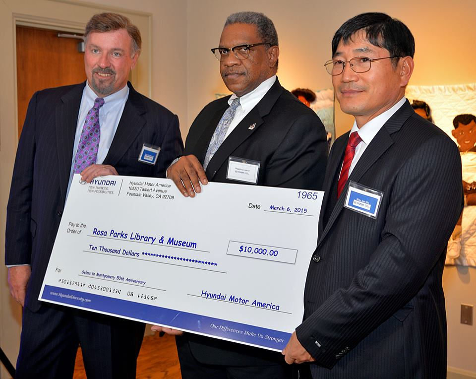 Hyundai donation to the Museum