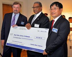 Hyundai donation to the Museum