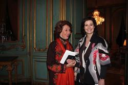 Diane De Obaldia and Sophie Nadeau