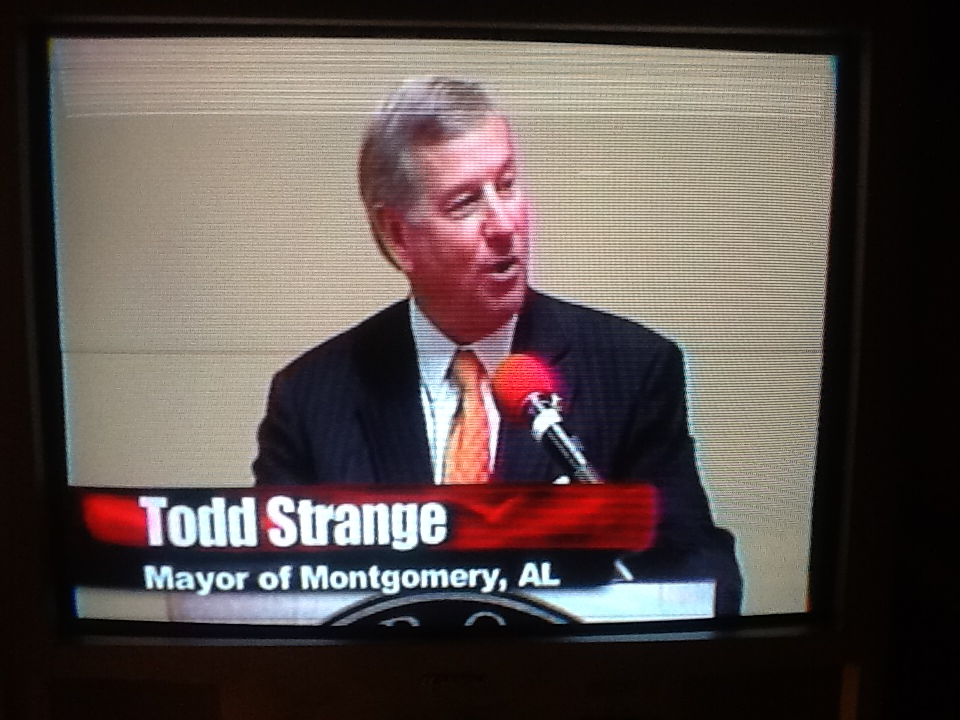 Mayor Todd Strange