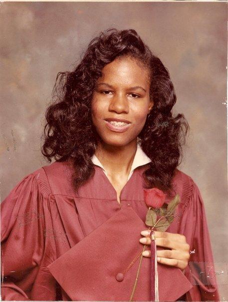 Age 17, High School Graduation picture