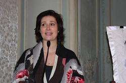 Sophie Nadeau making remarks