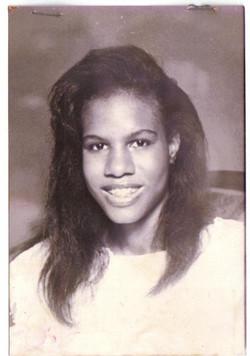 Riché Richardson, age 17, debutante