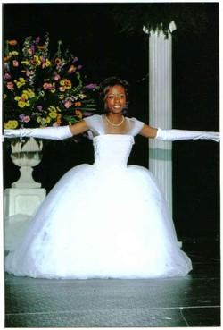 Megan Smith's debutante bow, 2006